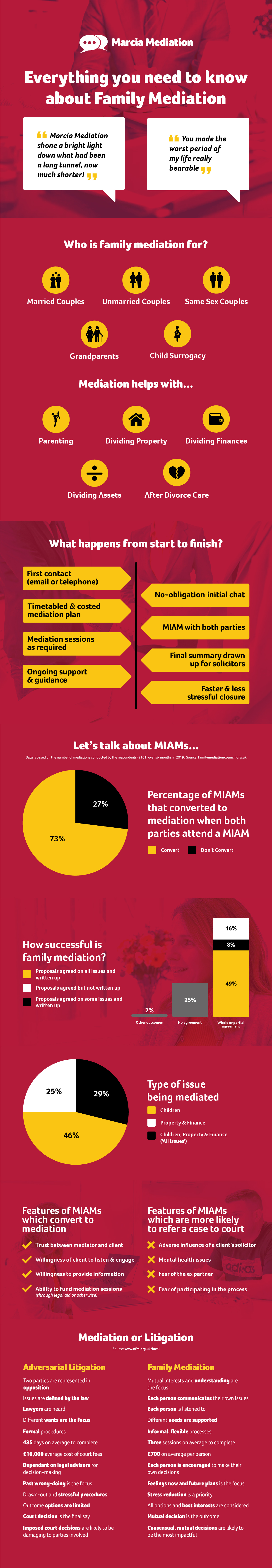 Family Mediation Infographic